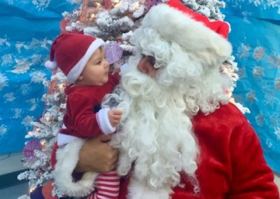Meet Santa at Caring Hearts Child Care in Sunnyvale