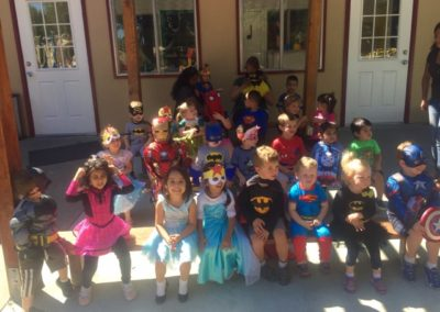 Class Photo at Caring Hearts Child Care in Sunnyvale